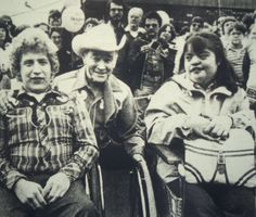 Roy Rogers comes to Parsippany to open one of his restaurants  1982