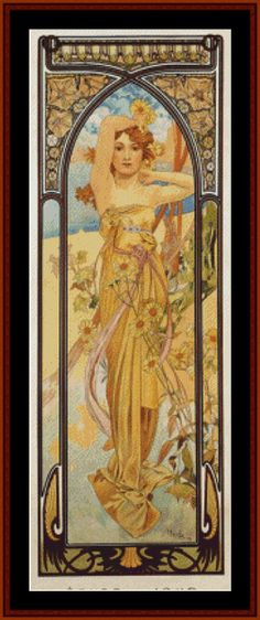 Fine Art counted cross stitch patterns by Cross Stitch Collectibles