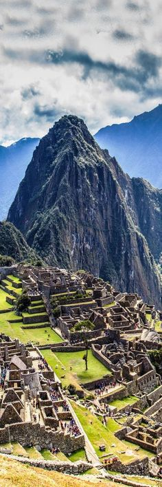 At the great Machu Picchu in Peru.