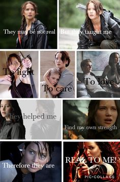 """""""Real"""". Oh, The Hunger Games...❤️❤️"""