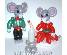 Balloon mouse by Adam's Animaloons Animal balloons Ballon Animals, Animal Balloons, Balloon Decorations, Christmas Decorations, Balloon Face, Christmas Balloons, Balloons And More, Arches, Smurfs