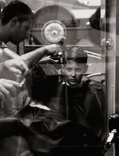 The Haircut by Donata Wenders