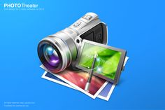 PhotoTheater图标设计 by ysheen - 原创作品 - 站酷网(ZCOOL)- Powerby 站酷(ZCOOL)