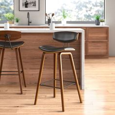 Johnathan Bar & Counter Stool All The Counter Stools I Considered For the Mountain House KitchenAll The Counter Stools I Considered For the Mountain House KitchenSlope Leather Bar & Counter Stools Johnathan Bar & Counter Plywood Furniture, Modern Furniture, Furniture Design, Futuristic Furniture, Mid Century Bar Stools, Leather Counter Stools, Swivel Counter Stools, Table Stools, Counter Chair
