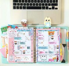 Planners Ideas and Accessories Agenda filofax issu d'Instagram ♡