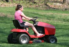 If you have a home that is flanked by a beautiful lawn or garden, then you need ride on lawn mowers to maintain the lawn or garden, as thi. Riding Lawn Mowers, Outdoor Power Equipment, Something To Do, The Neighbourhood, How Are You Feeling, Good Things, Landscaping, Gardens, Key
