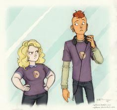 Sadie and Lars by CaptBexx