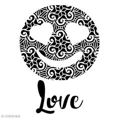 Compra nuestros productos a precios mini Plantilla multiusos - Emoción Love calada - A4 - Entrega rápida, gratuita a partir de 89 € ! Stencils, Symbols, Letters, Love, Mini, Art, Shopping, Murals, Products