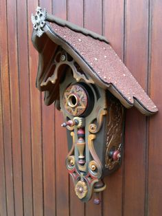 hand painted bird house by BirdHousingMinistry on Etsy, €185.00