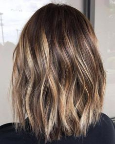 Fabulous Hair Color Ideas for Medium, Long Hair - Ombre, Balayage Hairstyles . - Fabulous hair color ideas for medium, long hair – ombre, balayage hairstyles - Ombre Hair Color, Hair Color Balayage, Brown Hair Colors, Hair Highlights, Ombre Balayage, Balayage Hairstyle, Color Highlights, Short Balayage, Lob Hair