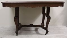 Magnificent Antique Louis XV Dining Table Two Leaves drop down extension legs