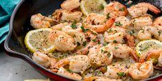 Lemon, garlic, and shrimp go hand in hand.