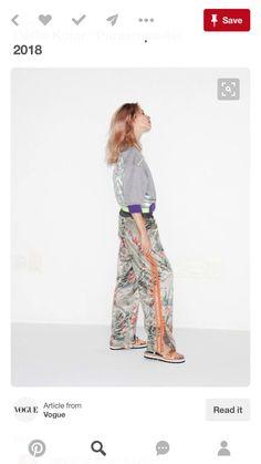 Kolor Spring 2018 Ready-to-Wear Fashion Show Collection Fashion Week, Runway Fashion, Fashion Outfits, Spring Summer 2018, Spring Summer Fashion, Vogue Russia, Fashion Show Collection, Vogue Paris, Fashion History