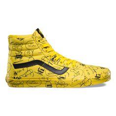 36ee4d43d0a Vans X Peanuts SK8-Hi Reissue Shoes