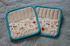 Pot Holder tutorial. Must make some- I only have 2 good ones in the house!