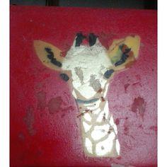 Giraffe Art For Sale, Giraffe, Dinosaur Stuffed Animal, Painting, Animals, Giraffes, Animales, Animaux, Painting Art