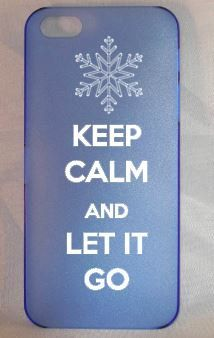 Keep Calm and Let It Go~ Frozen ~ Cell Phone Case~ Iphone 5, 5S on Etsy, $10.00