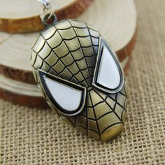 Spiderman Mask Keychain
