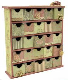 KaiserCraft - Mini Treasure chest - Magnolia Grove collection