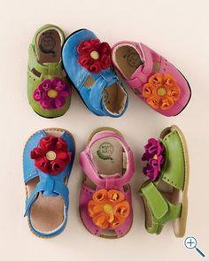 Fun Colorful Sandles for Girls
