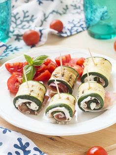 Diet Recipes, Healthy Recipes, Summer Party Decorations, Antipasto, Caprese Salad, Summer Recipes, Biscotti, Barbecue, Sushi