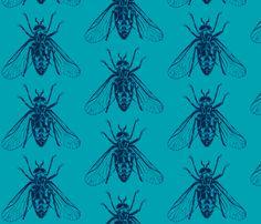 Horsefly- blue by Gantpants