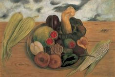 * Frida Kahlo Fruits of the Earth 1938