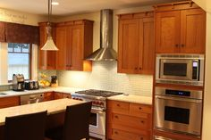 New Construction Arts and Crafts Kitchen