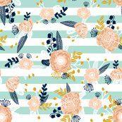 stripes flowers florals flower fabric nursery fabric nursery florals design girls peach flowers les fleurs fabric