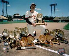 Brooks Robinson - Baltimore Orioles - 16 Gold Gloves