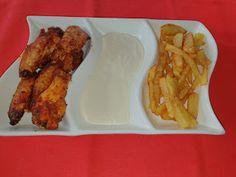 Lulu - Povesti din Bucatarie: Aripioare crocante la cuptor Chicken, Meat, Food, Essen, Meals, Yemek, Eten, Cubs
