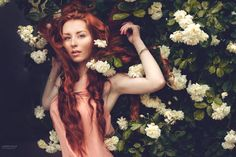 Fotograf In roses. von Marketa Novak auf 500px