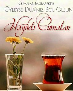 #Cuma mesajlar #Hayirli Cumalar #Hayırlı cumalar #HayirliCumalar #Hayırlıcumalar #Cumamesajları Friday Messages, Islamic Quotes, Diy And Crafts, Glass Vase, Place Card Holders, Instagram Posts, Quotations, Wallpaper, Quote