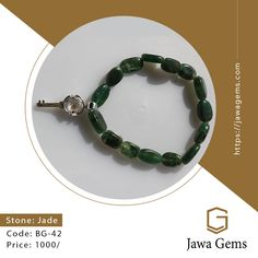 Jade BG 42 #Jade ₨ 1,000 For more details whatsapp on 03159477284 Free Delivery all over Pakistan A protective stone, Jade keeps the wearer from harm and brings harmony. Jade attracts good luck and friendship. It stabilizes the personality and promotes self-sufficiency. #JawaGems #Jawa #Jade #JadeRing #Jadebracelet #Jadenecklace #Jadependent #Jadeearring #Stone #JadeStone #Diamond #Zamurd #Neelum #Yakooot #BlueSapphire #Bluetopaz #GoldenTopaz #Zircon #Ruby #Lapis #BuyOnline #Luckystone… Jade Earrings, Jade Bracelet, Jade Necklace, Stone Bracelet, Turquoise Bracelet, Beaded Bracelets, Dreams Resorts, Lucky Stone, Astrology Compatibility