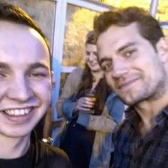 "NEW PIC ALERT  @brian_flynn__ now has a selfie! ""Bad quality pics with bae #henrycavill #hunreal""  #HenryCavill #Superman #ManofSteel #TheManFromUNCLE #NapoleonSolo #BatmanvSuperman #DawnofJustice #ClarkKent #CharlesBrandon #London #fun #Ireland"