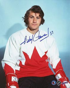 Gillies PerraultScored a razzle dazzle goal in the Vancouver loss, but then decided against going to Russia. Hockey Games, Ice Hockey, Canadian Hockey Players, Summit Series, Good Old Times, Buffalo Sabres, Nfl Fans, Sports Stars, Best Player