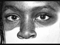 Hyperrealistic Drawings by Kelvin Okafor
