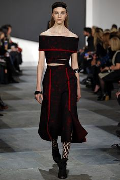 See the Proenza Schouler autumn/winter 2015 collection