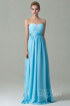 Charming+Sheath-Column+Natural+Floor+Length+Chiffon+Light+Blue+Sleeveless+Zipper+Convertible+Bridesmaid+Dress+with+Ribbons+and+Draped+Streamers+COZF140A1