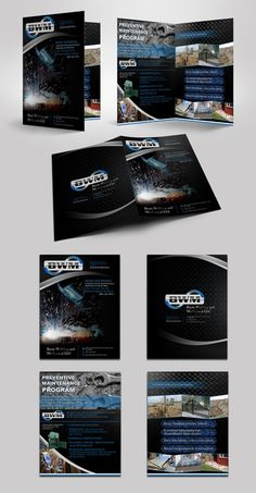Design an attractive Brochure for Basin Welding and Mechanical LLC by R A Y A ™