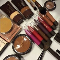 Make-up for black women at Target 2016 photography