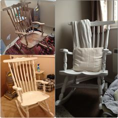 Merveilleux Rocking Chair Restoration (Bought In Pieces, Restored By: Dan Catcheside)