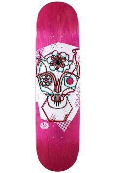 Freek Face Skuli Skateboard Deck by Alien Workshop