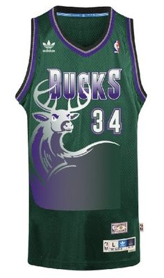 Ray Allen Milwaukee Bucks Adidas NBA Throwback Swingman Jersey - Green -  http    1dc95ce76