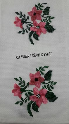 This Pin was discovered by Can Cross Stitch Horse, Cross Stitch Heart, Cross Stitch Flowers, Hand Embroidery Flowers, Embroidery Stitches, Cross Stitch Designs, Cross Stitch Patterns, Palestinian Embroidery, Cross Stitch Bookmarks