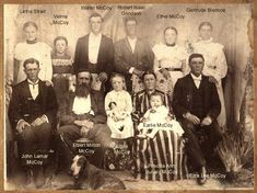 hatfield and mccoy family tree | Submitted by Tim J. McCoy of Austin, Texas