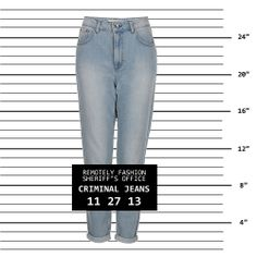 Criminal Jeans - Topshop MOM Jeans... but we have the flattering solution in an alternative shade!