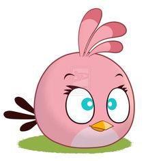 Angry Birds -The smart Pink Bird by Coonstito - sample pic for my next angry birds hat.