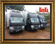 TRUCK BOX ALUMUNIUM >> KAROSERI KENKA Truck Boxes, Daihatsu, Toyota, Fiber, Van, Trucks, Vehicles, Freezer, Vans