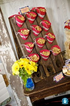 Fun display for party food!